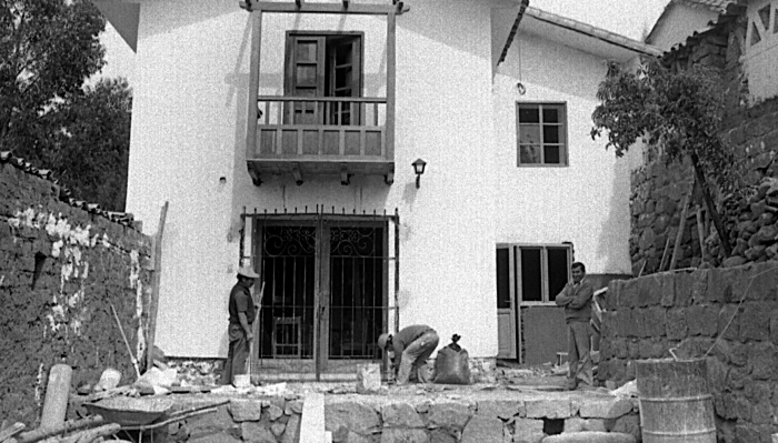 Original building as family home in 1980, what today is on of the best hotels in Cuzco of its kind