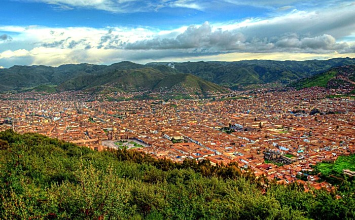 Cusco the capital of the Inca Empire