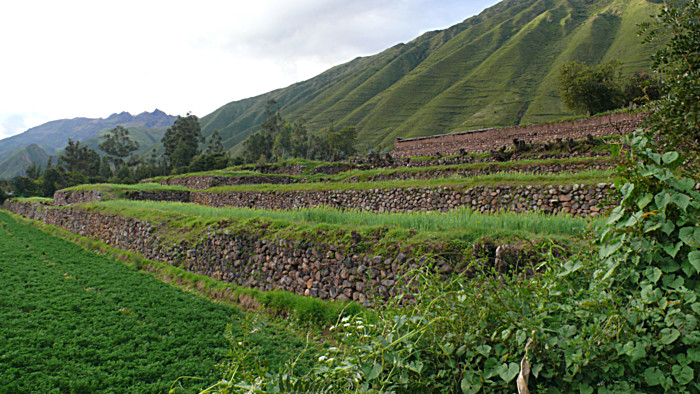 Sacred Valley of the Incas: Inca Terraces of Yucay