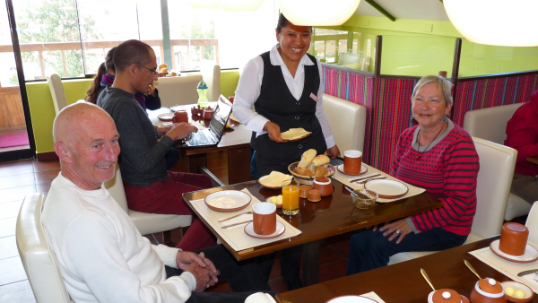 Breakfast Cafeteria: Cuzco Hotels